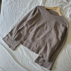 Sweaters - Tan knit sweater